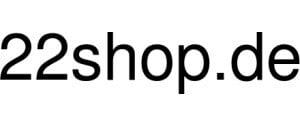 22Shop De Logo