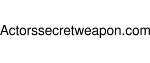 Actorssecretweapon Logo