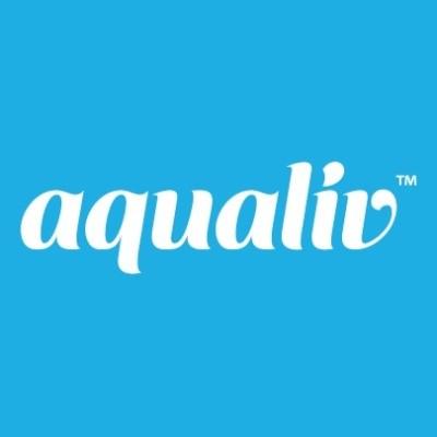 AquaLiv Water Logo