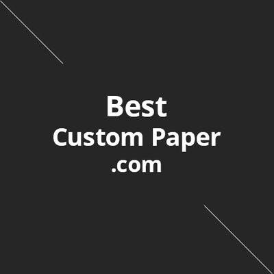 Best Custom Paper