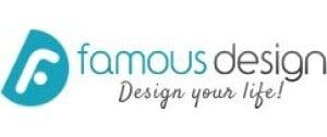 Famous Design FR Logo