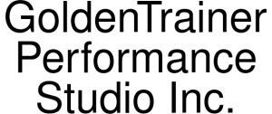 GoldenTrainer Performance Studio Logo