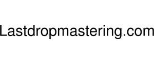 Lastdropmastering Logo