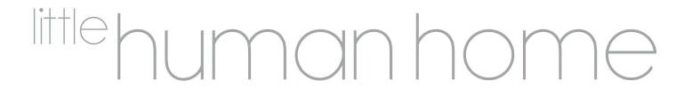Little Human Home Logo