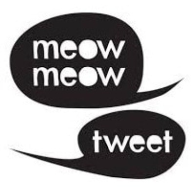 Meow Meow Tweet Logo