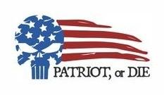 Patriot, Or Die Apparel Logo