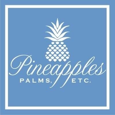 Pineapples Palms Too Logo