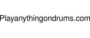 Playanythingondrums Logo