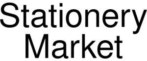Stationery Market Logo