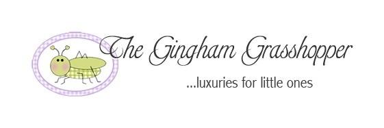 The Gingham Grasshopper Logo