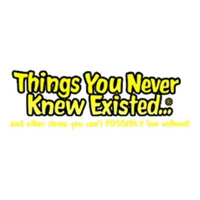 Things You Never Knew Existed