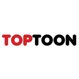 TOPTOON 頂通漫畫 Logo