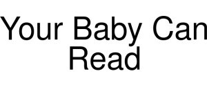 Your Baby Can Read Logo
